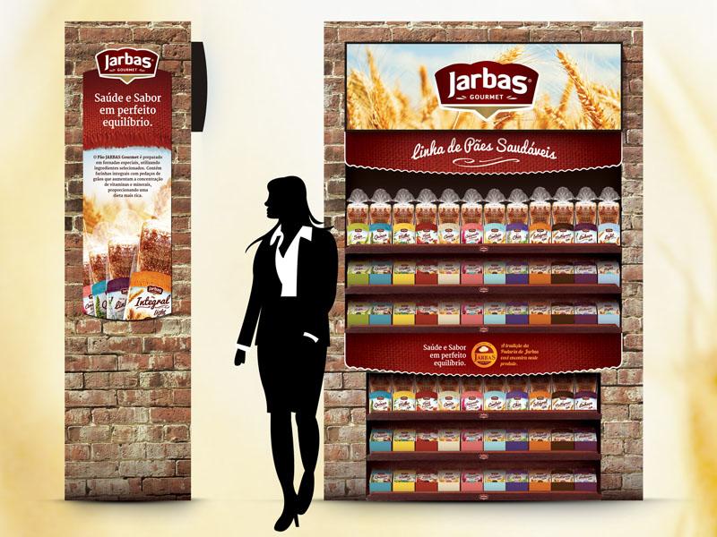 Lançamento e criação da embalagem da nova linha de produtos Padaria do Jarbas (Publicidade e marketing)