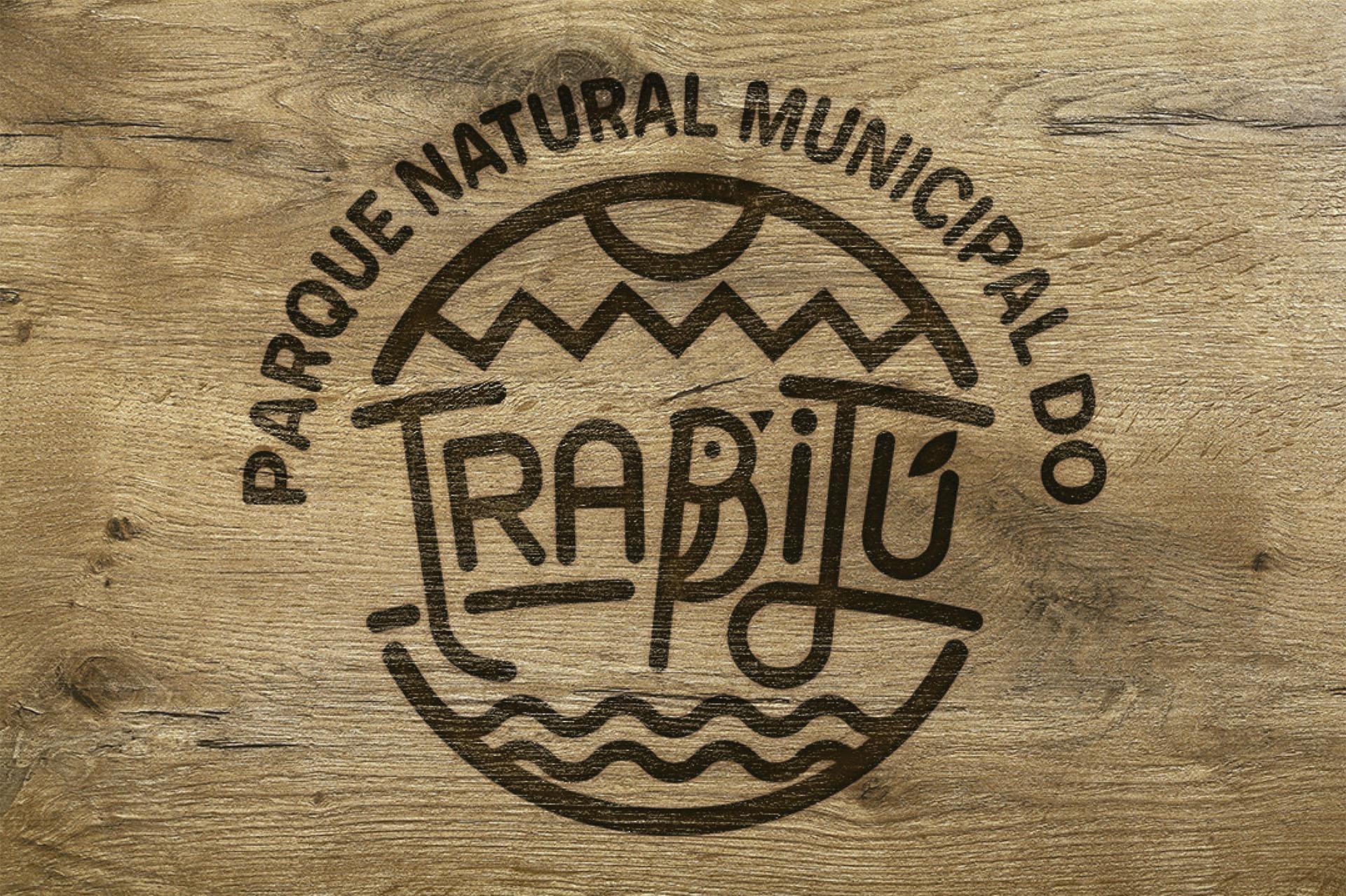 Aplicação do Logotipo do Parque Natural Municipal do Trabijú