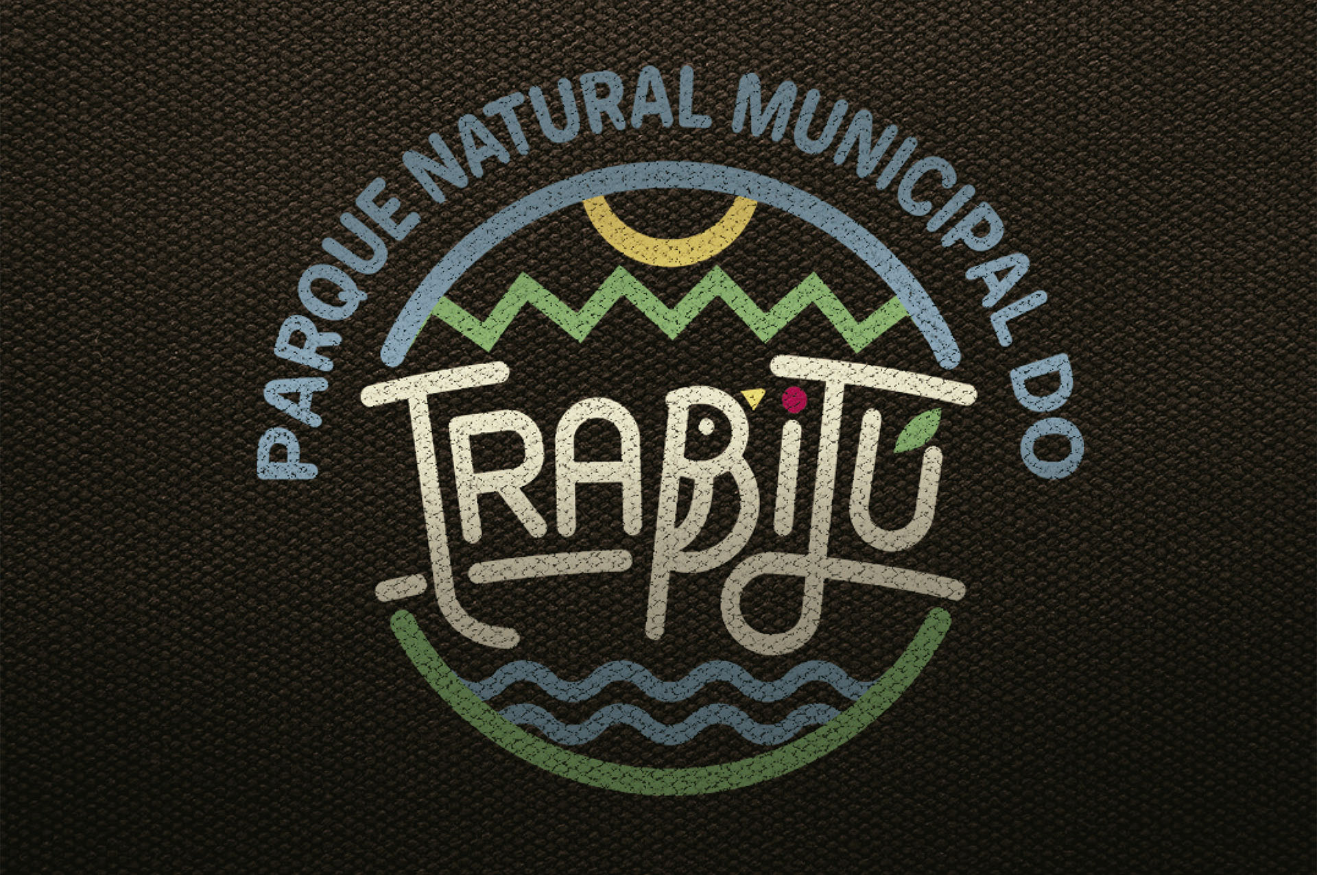 Logotipo Preferencial do Parque Natural Municipal do Trabijú