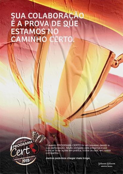 Evento para colaboradores do Programa Certo da Johnson & Johnson Medical Brasil